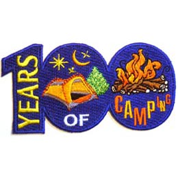 100 Years of Camping (Iron On)