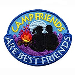 Camp Friends Are Best Friends (Iron On)