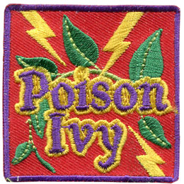 Poison Ivy (Iron On)