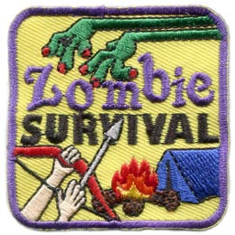 Zombie Survival (Iron On)