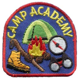 Camp Academy (Iron On)