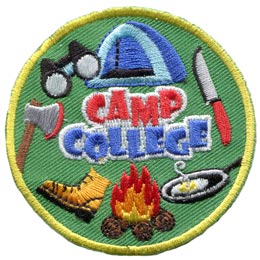 Camp College (Iron On)
