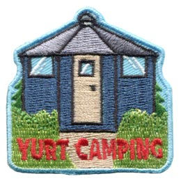 Yurt Camping (Iron On)