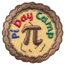 Pi Day Camp (Iron On)