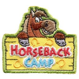 Horseback Camp (Iron On)
