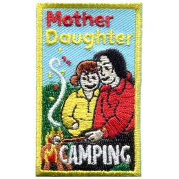 Mother Daughter Camping (Iron On)