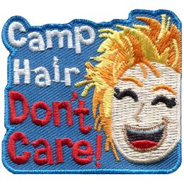 Camp Hair Don't Care (Iron On)