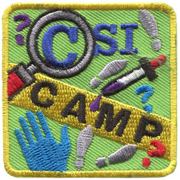 CSI Camp (Iron On)