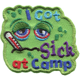 I Got Sick At Camp (Iron On)