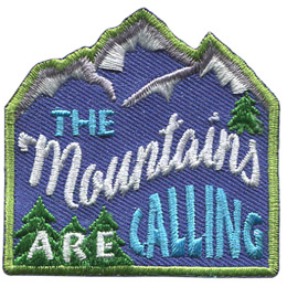 The Mountains Are Calling (Iron On)