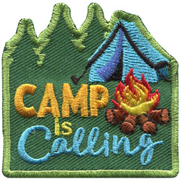 Camp Is Calling (Iron On)