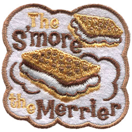 The S'more the Merrier (Iron On)