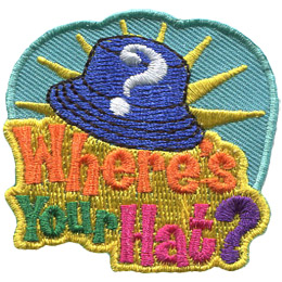 Where's Your Hat? (Iron On)