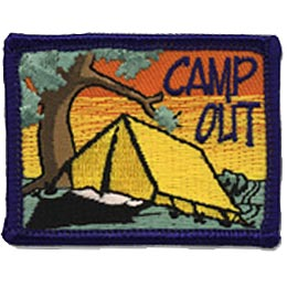 Camp Out - Yellow Tent