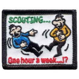 Scouting...One Hour A Week!? (Iron On)