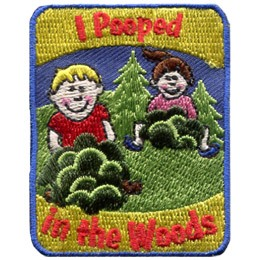 I Pooped In The Woods (Iron On)