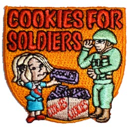 Cookies For Soldiers (Iron On)