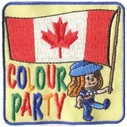 Colour, Color, Party, Honor, Honour, Guard, Honor Guard, Honour Guard, Flag, Parade, Patch, Embroidered Patch, Merit Badge, Badge, Emblem, Iron On, Ir