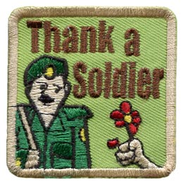 Thank A Soldier (Iron On)