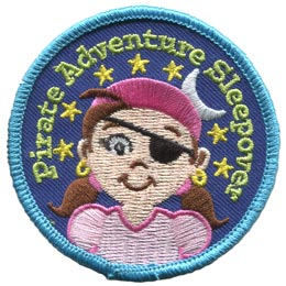 Pirate Adventure Sleepover Girl (Iron On)