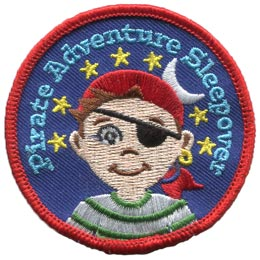 Pirate Adventure Sleepover Boy (Iron On)