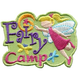 Fairy Camp (Iron On)