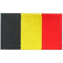 Belgium Flag (Iron On)