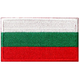 Bulgaria Flag (Iron On)