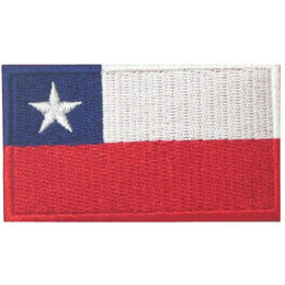 Chile Flag (Iron On)