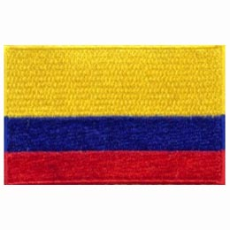 Colombia Flag (Iron On)