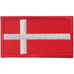 Denmark Flag (Iron On)