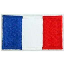 France Flag (Iron On)