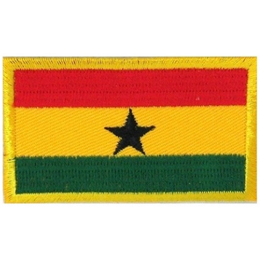 Ghana Flag (Iron On)