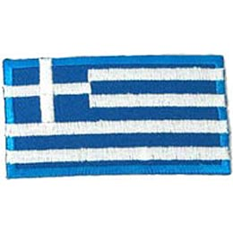 Greece Flag (Iron On)