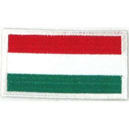 Hungary Flag (Iron On)