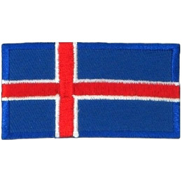 Iceland Flag (Iron On)