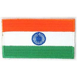 India Flag (Iron On)