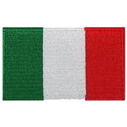 Italy Flag (Iron On)