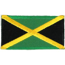 Jamaica Flag (Iron On)