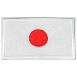 Japan Flag (Iron On)
