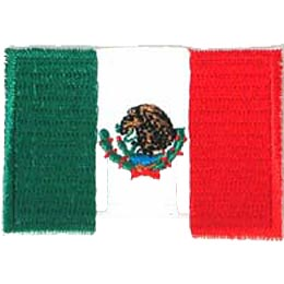 Mexico Flag (Iron On)