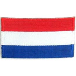 Netherlands Flag (Iron On)