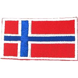 Norway Flag (Iron On)