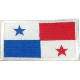 Panama Flag (Iron On)