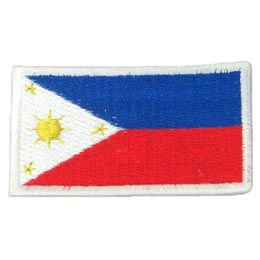 Philippines Flag (Iron On)