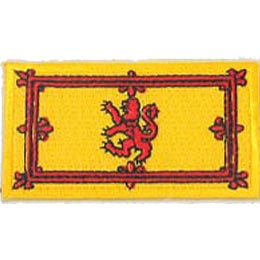 Scotland Lion Flag (Iron On)