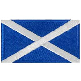 Scotland St. Andrews Flag (Iron On)