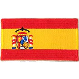 Spain Flag (Iron On)