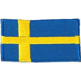 Sweden Flag (Iron On)