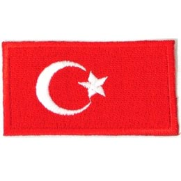 Turkey Flag (Iron On)